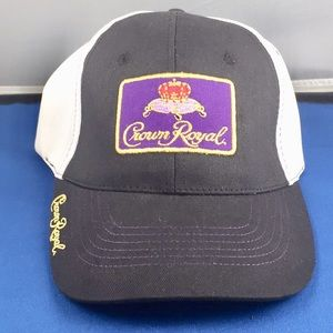 Other - Crown Royal Velcro Unisex Hat